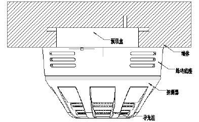 JBF4111-Bp点型感温火灾探测器 带蜂鸣器底座