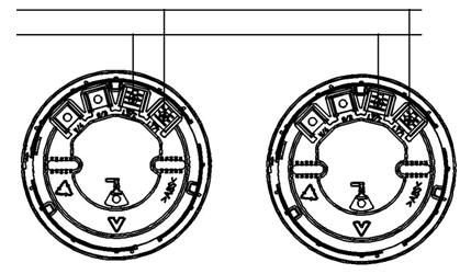 JBF5172火灾声光警报器安装接线