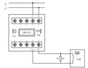 JBF5131输入模块接线