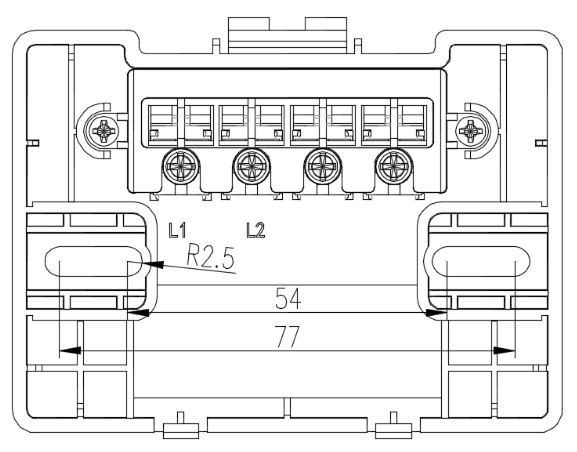 JBF5060火灾显示盘安装接线