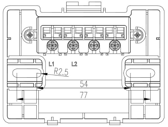 JBF5061火灾显示盘安装接线