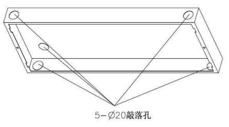 TS6981嵌墙式预埋件安装孔