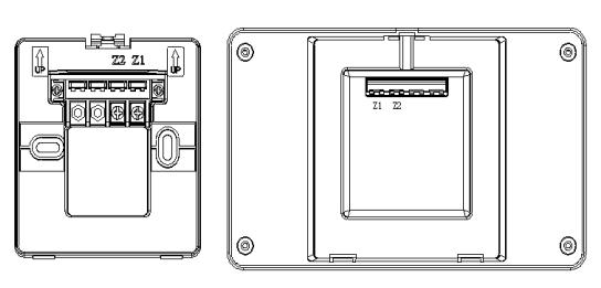 TX3404火灾显示盘接线示意图