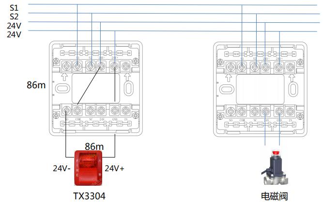 TR1500输出模块产品接线