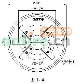 海湾jty-gd-g3点型光电感烟火灾探测器接线安装图