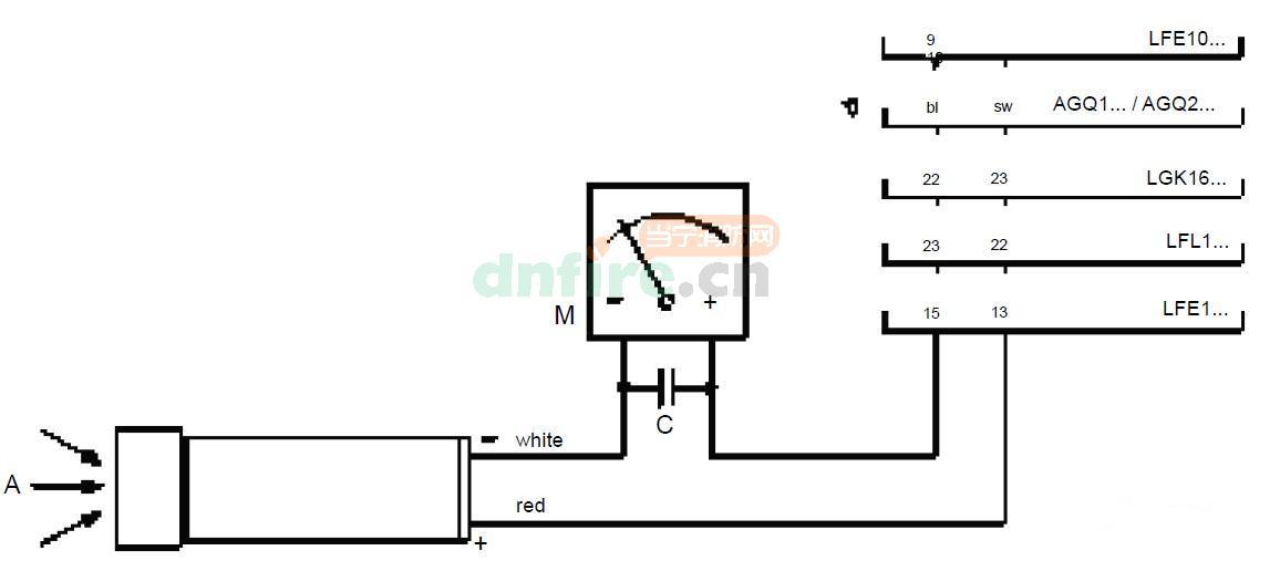 微安电流检测电路